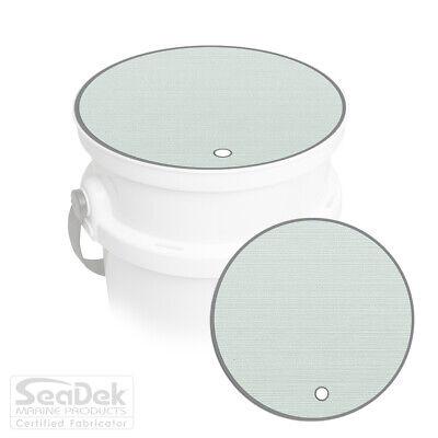 SeaDek Pad fits YETI Loadout Bucket Accessories - Blank - Sea Foam / Storm -