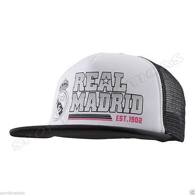 Real Madrid Trucker Cap Hat  Official Authentic New Season Cristiano Ronaldo