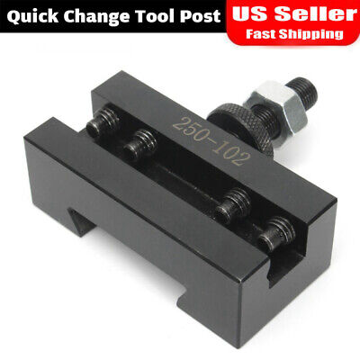 Axa 2 Quick Change Turning Facing Boring Cnc Tool Post Holder 250-102