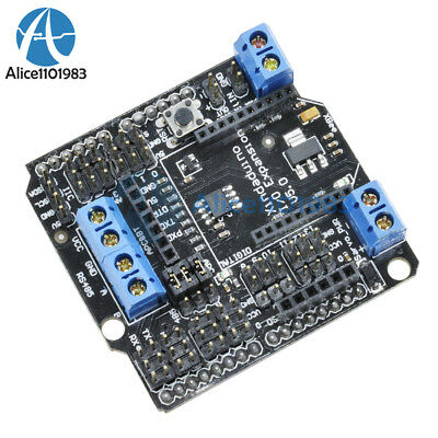 Xbeebluetoothsrs485 Rs485apc220 Io Sensor Expansion Shield V5.0 For Arduino