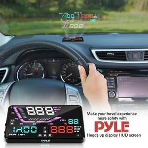 HAVE YOU EVER WANTED TO PILOT A FIGHTER JET -- TRY A HEADS UP DISPLAY (HUD) FOR YOUR CAR !!