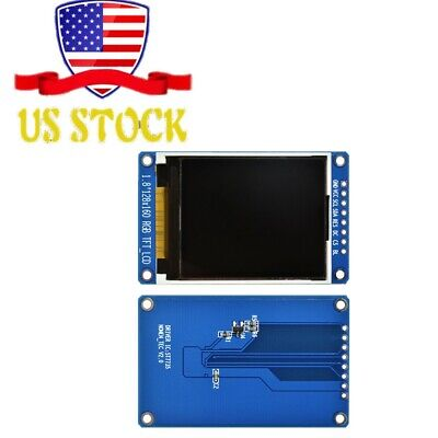 1.8 128x160 Lcd Display Tft Full Color Module Serial Spi St7735s For Arduino
