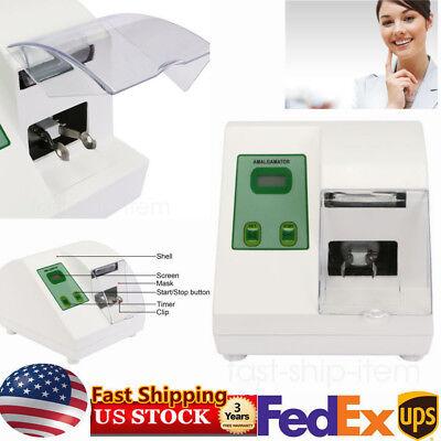 Dental High Speed G5 Amalgamator Digital Amalgam Capsule Mixer Blender Device Us