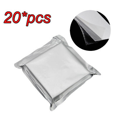 20pcs 1.0mm Hard Dental Lab Splint Thermoforming Material For Vacuum Forming Ce