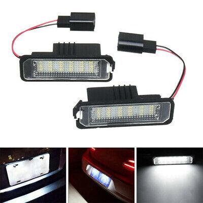 2x LED Kennzeichenbeleuchtung für VW für Golf 4 5 6 7 für Passat für Beetle #E