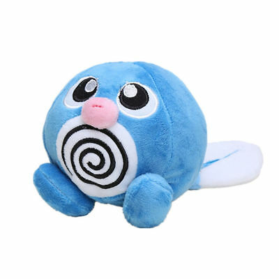 Pokemon Center Poliwag Plush Toy Stuffed Doll Figure Gift 5 inch