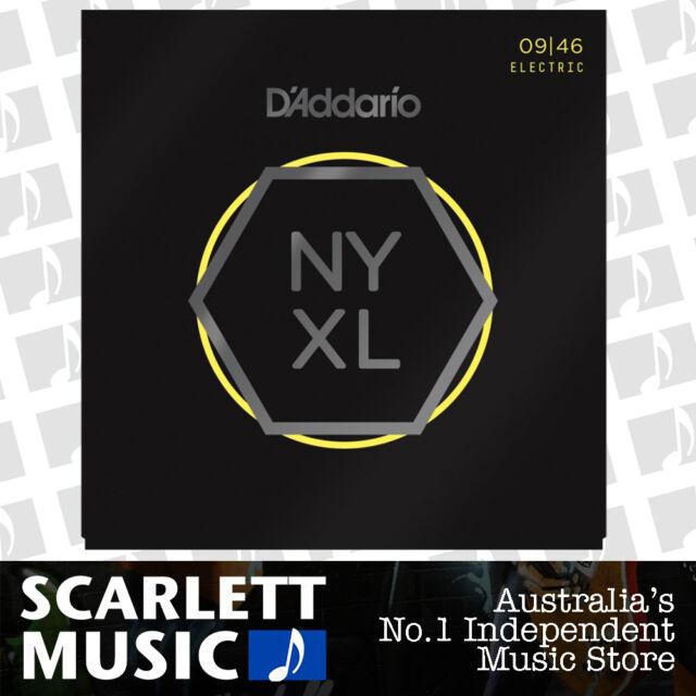 D'addario NYXL-0946 Strings 9-46 Super Light Top-Med Bottom Daddario NYXL0946