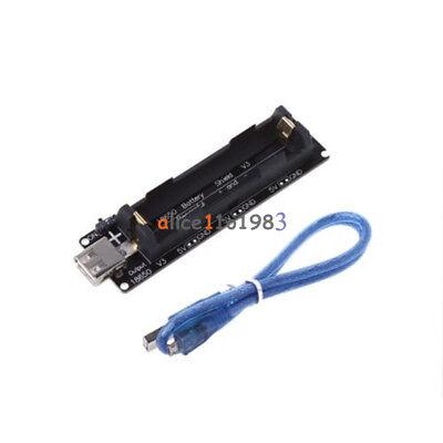 Raspberry Pi Wemos 18650 Battery Shield V3 Esp32 Esp-32 Wusb Cable For Arduino