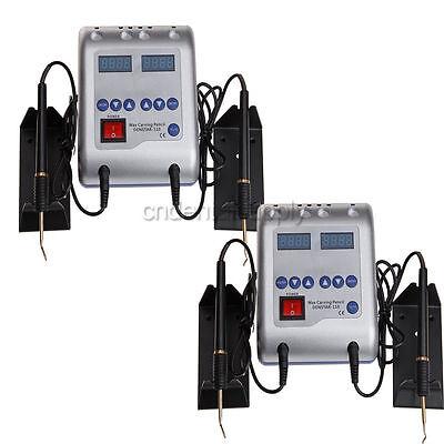 2x espatula electrica cera para protesis dental entrega rápida 12 Puntas YE2006