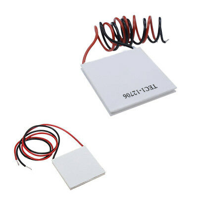 Tec1-12706 Heatsink Thermoelectric Cooler Cooling Peltier Plate Module Dc12v 60w