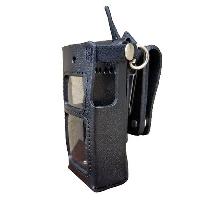 Case Guys Hy3030-3awd Hard Leather Holster For Hytera Pd682 Radios