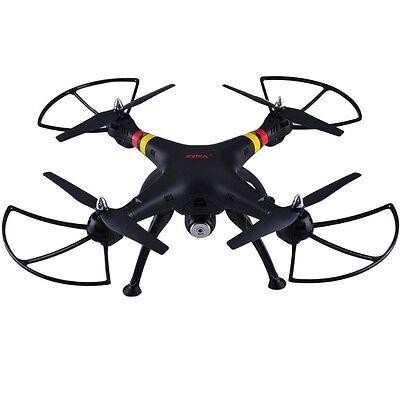Black Syma X8W FPV 2.4Ghz RC Qucopter Drone UVA 2MP Wifi Camera RTF US Seller