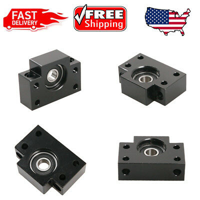 Bf12 End Support Bearing Block For Ball Screw Cnc Milling Tool Us Stock