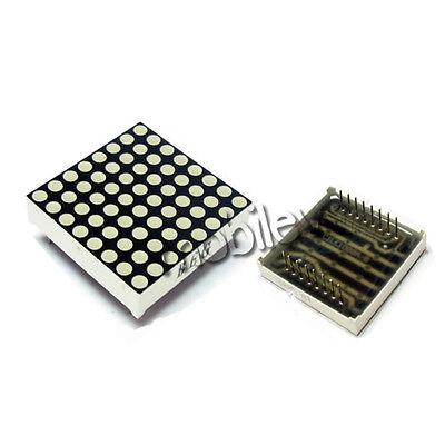 6 Led Dot Matrix Display 16pin 8x8 3mm Red Common Anode