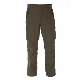 Beretta Brown Bear Trousers Waterproof Pants Green Hunting Shooting Fish CU55