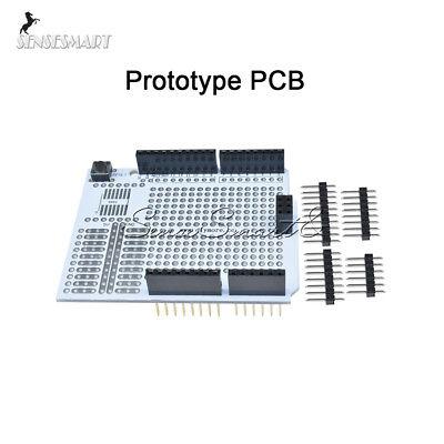 Prototype Pcb Protoshield Expansion Board Breadboard For Arduino Uno R3 Diy Kit