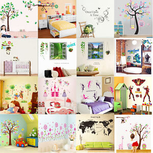 Wholesale-DIY-Vinyl-Wall-Stickers-Decal-Art-Mural-for-Kids-Nursery-Home-Decor