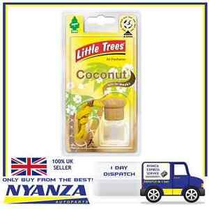 Magic Tree Little Tree COCONUT Liquid Bottle Home Car Van Air Freshener Freshner