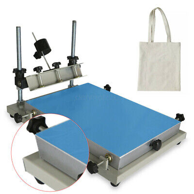 Solder Paste Printer Stencil Manual Press Printer 30 Degrees Rotation 300x240mm