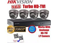 FULL HD CCTV System 4 Cameras 2.4mp System Full HD 1080p Resolution Fitted Limited Offer!
