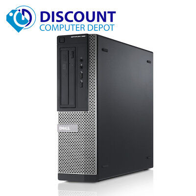Fast Dell Optiplex Windows 10 Desktop Computer PC i3 3.1GHz 4GB 250GB HDMI