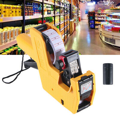 Handheld Mx-5500 8 Bit Price Tag Gun Labeling Machine For Shops