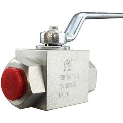 Taixin Hydraulic 343939npt 4650psi Khb High Pressure Ball Valve Industrial
