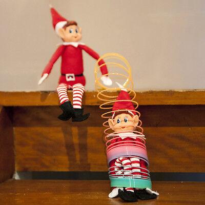 Xmas Naughty Elf Sitting Shelf Style Doll Figure Magic Christmas Count Down UK](Halloween Figures Uk)