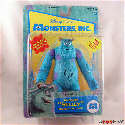 Disney Pixar Monsters Inc. Top Scarer James P. Sullivan Sulley sealed