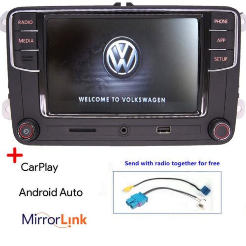 Autoradio RCD330,Bluetooth,Carplay,Android Auto,USB,RVC,VW GOLF POLO PASSAT EOS