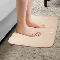 Pressure Sensitive Mat Alarm Clock Stand Smart Floor Rug Led Time Magic Carpet