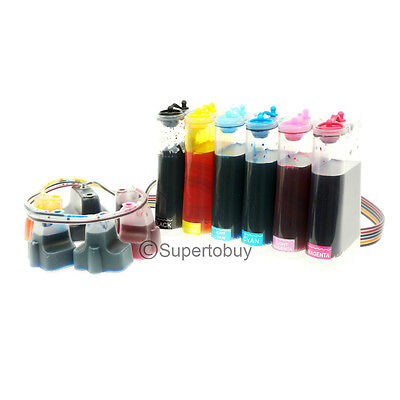 Cisinks Continuous Ink System For Hp 02 Photosmart 8230 8...