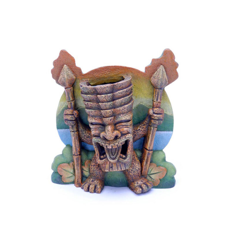 RESIN CRAZY TORCH TIKI ORNAMENT EACH