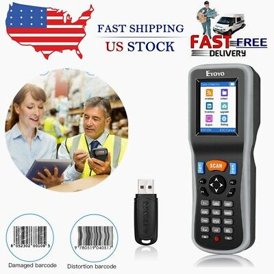 2.4g Wireless Barcode Scanner Data Collector Inventory Counter For Warehouse Use