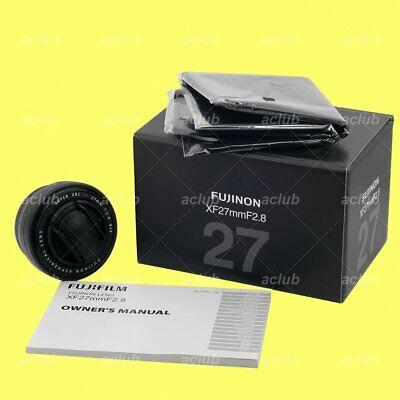 Genuine Fujifilm Super-EBC Fujinon XF 27mm f/2.8 Lens (Black)