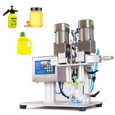 90w Bottle Capping Machine Spray Head Cap Screwing Machine Semi-automatic 110v