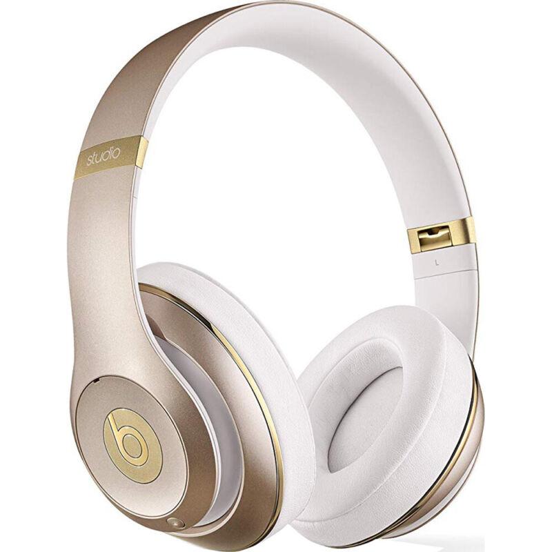 Beats by Dr. Dre Beats Studio Wireless Over-the-Ear Headphones Gold MHDM2AM/A