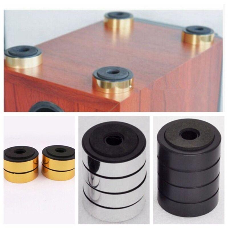 4pcs 48mm Amplifier Speaker Isolation Feet Mats HiFi Stand Pad Audio Equipment
