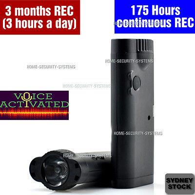 Voice Recorder Listening Device Audio Long Record Monitoring No Spy Hidden