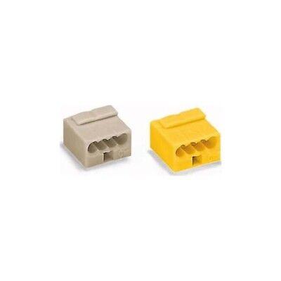 Wago 243-304 Micro-Dosenklemme 4x0,6-0,8 lichtgrau 100 Stück
