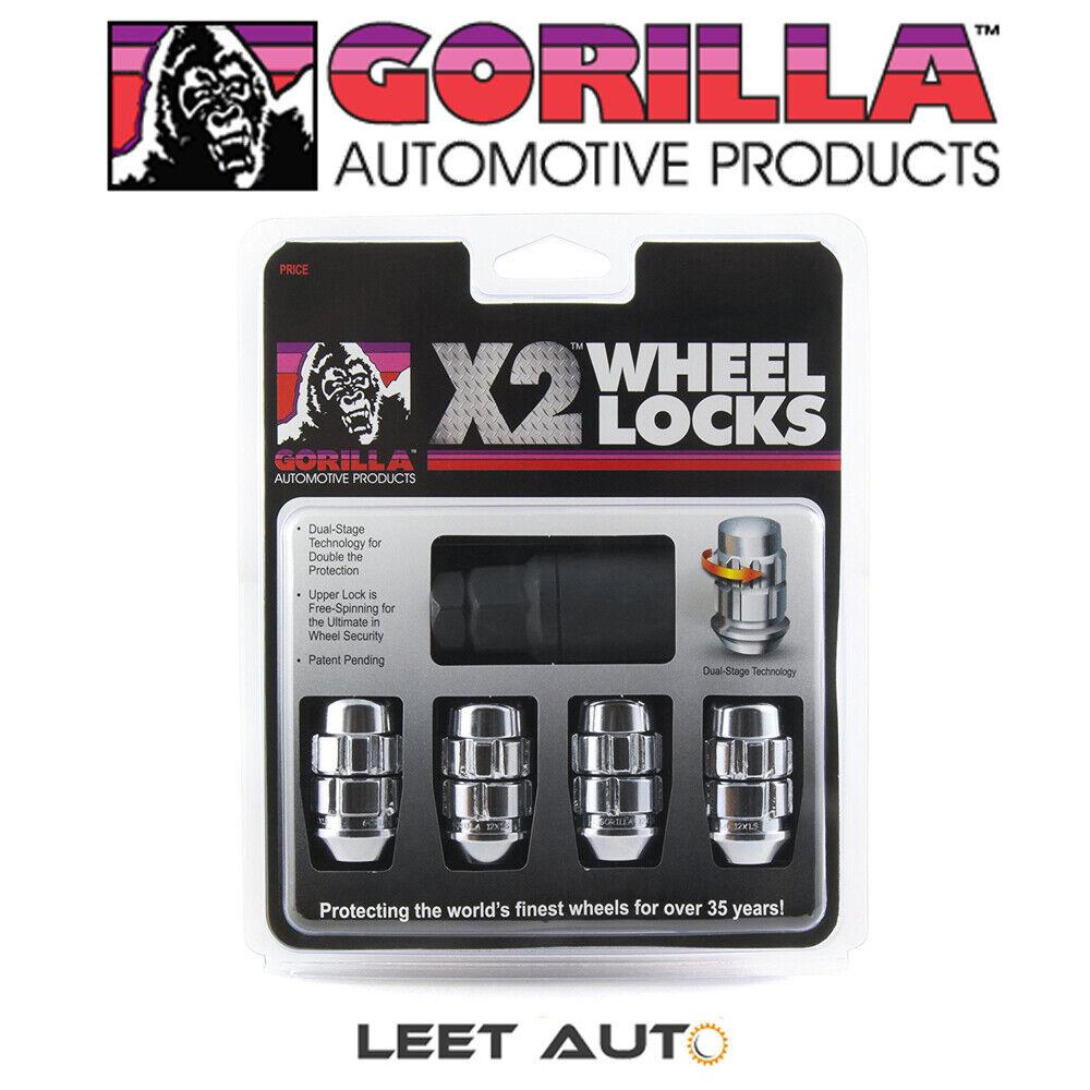 -Pack of 5 12mm X 1.50 Thread Size Gorilla Automotive 71631NB5 Acorn Wheel Locks