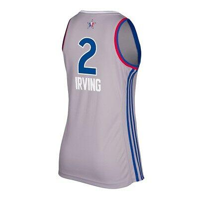 2017 Kyrie Irving Adidas East Nba All Star Grey Replica Jersey Womens