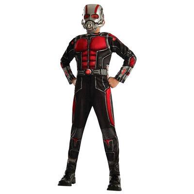 CHILDS DELUXE ANT MAN COSTUME AVENGERS ENDGAME WASP MARVEL SUPERHERO FANCY DRESS (Wasp Marvel Kostüm)