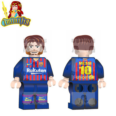 LEGO Custom Football Soccer FIFA World Cup Messi in National Jersey