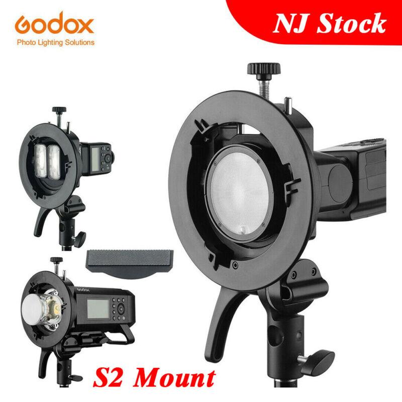 Godox S2 Bowens Mount S-type Holder Bracket for Godox V1 AD200 AD400PRO Flash