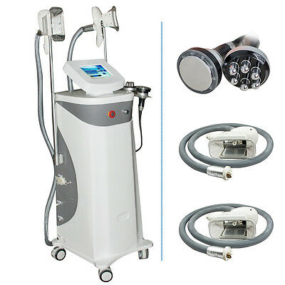 Frozen Cavitation Slimming Fat Removal Skin Tighten Beauty Equipment Supply DHL