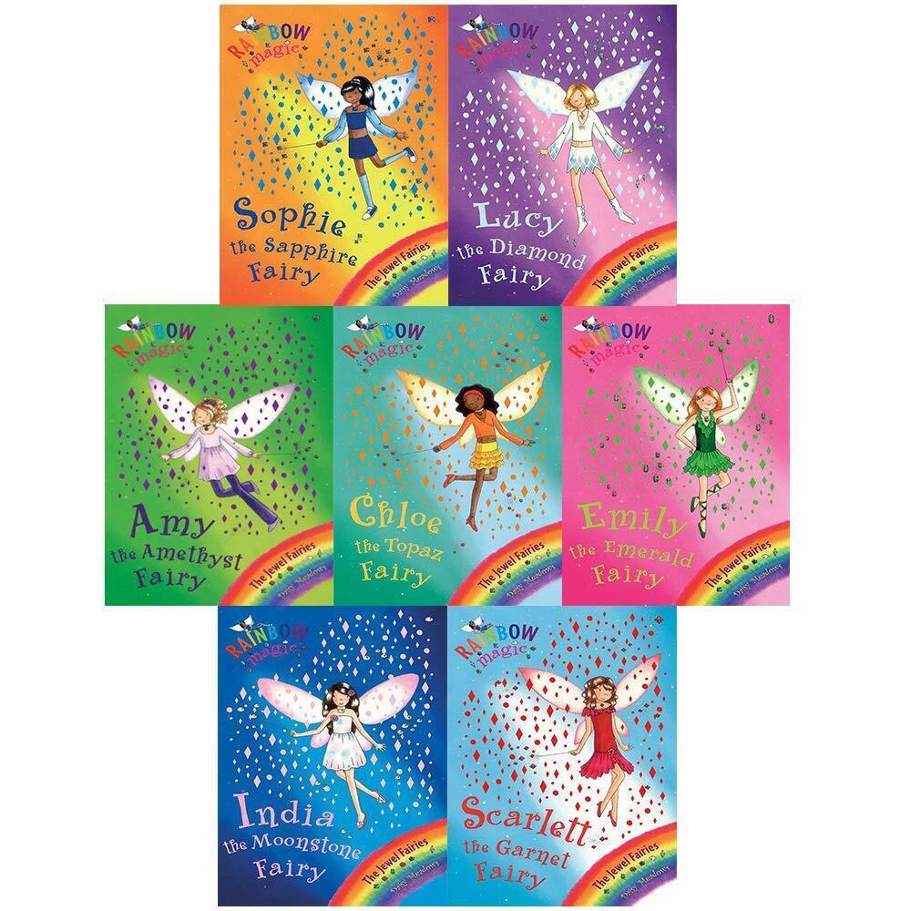 Rainbow Magic Jewel Fairies Lucy the Diamond Fairy