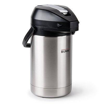 Bunn 32125.0000 Coffee Airpot Lever Action 2.5 Liter 84oz