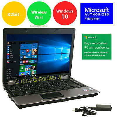 $123.33 - HP Laptop Notebook PC Windows 10 Intel Core Duo 2GB 14.1 Screen HD DVD Win 10 32