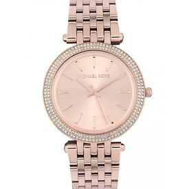 Brand New Michael Kors Ladies Rose Gold Watch MK3192